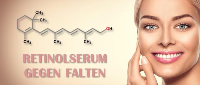Retinolserum gegen Falten